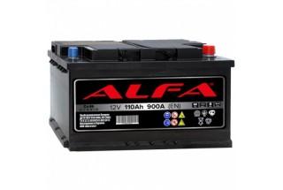Аккумулятор ALFA Hybrid 110 А/ч 900A R+