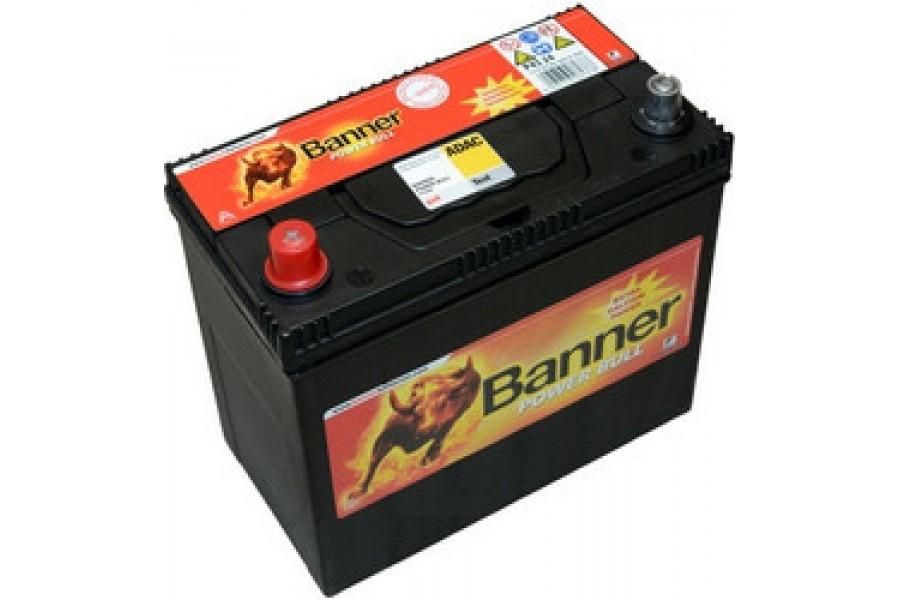 Аккумулятор BANNER Power Bull 45 JR 390A e/n L+