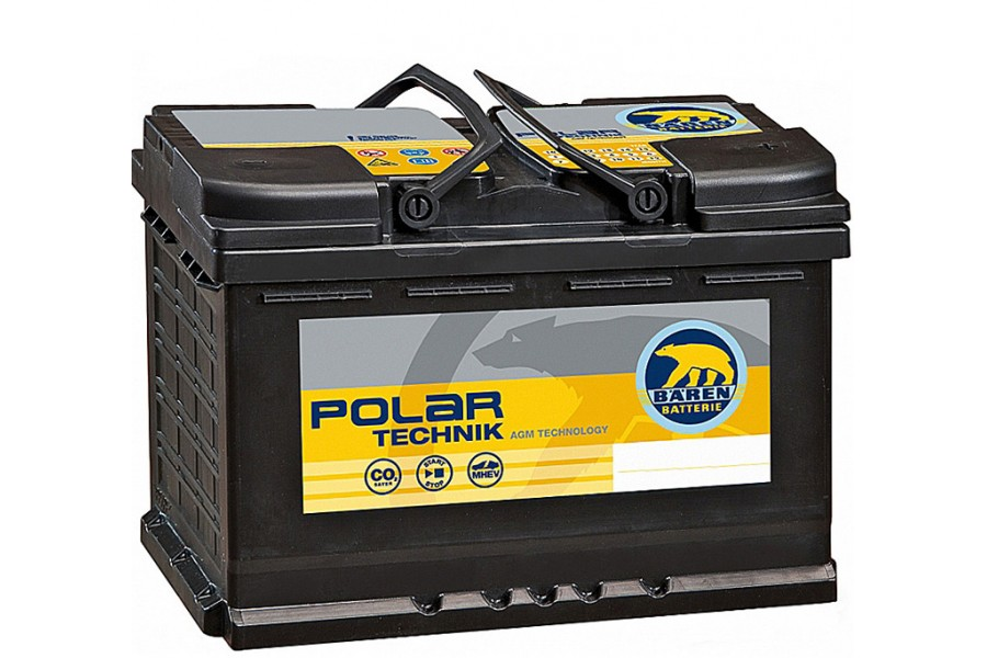 Аккумулятор BAREN Polar Technik AGM 80  A/h R 760A