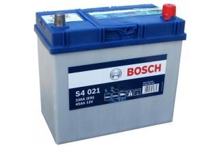 Аккумулятор Bosch S4 021 ASIA (45 А/H), 330A R+ (545 156 033)