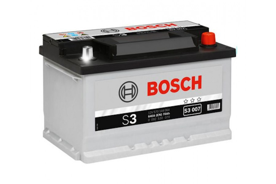Аккумулятор Bosch S3 008 (70 А/H), 640A R+ (570 409 064)