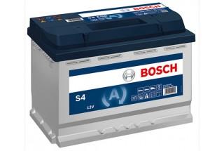 Аккумулятор BOSCH S4 007 ,72 А/H, 680A R+ (572 409 068) низкий