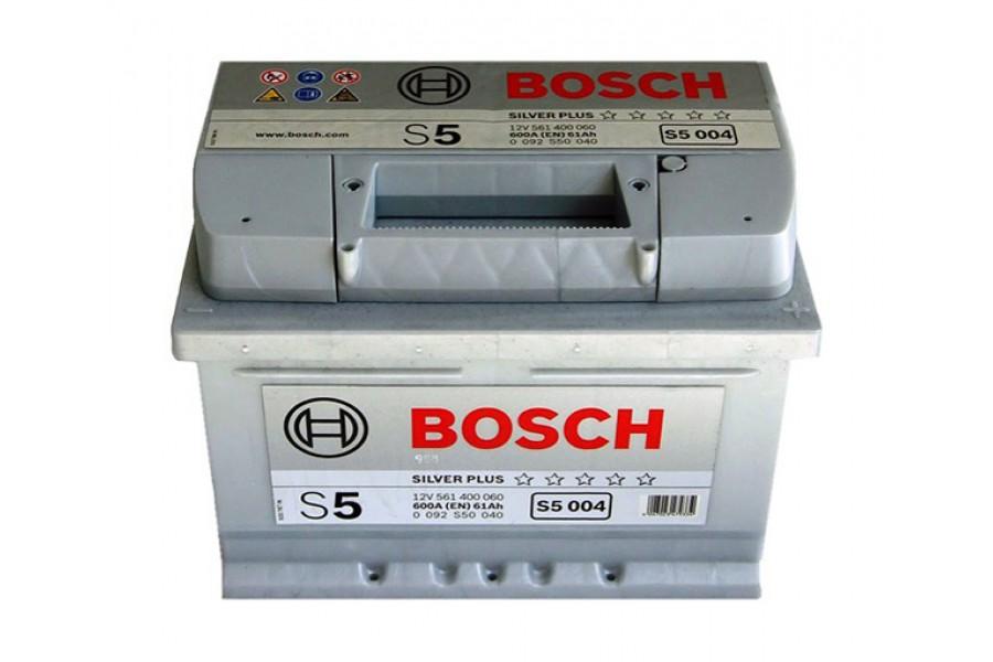 Аккумулятор Bosch S5 004 (61 А/H), 600А R+ (561 400 060)