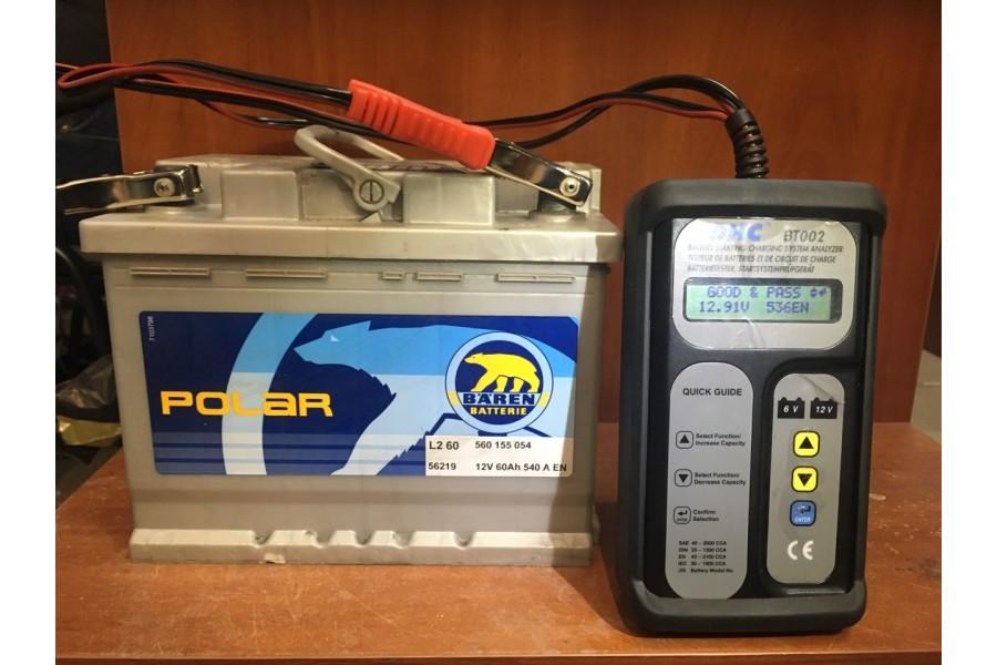 Аккумулятор Baren polar 60  A/h 540A