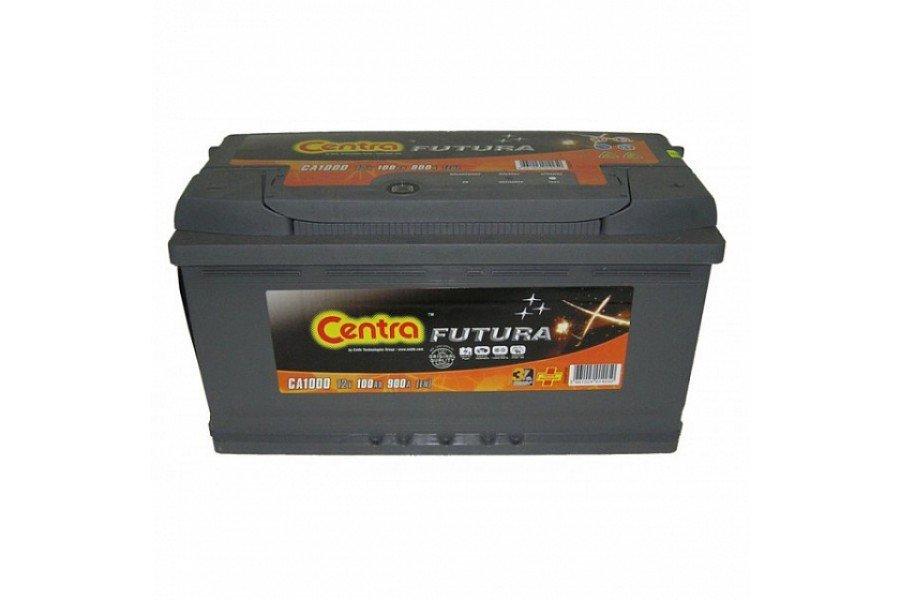 Аккумулятор Centra Futura CA1000 100 А/ч 900A R+