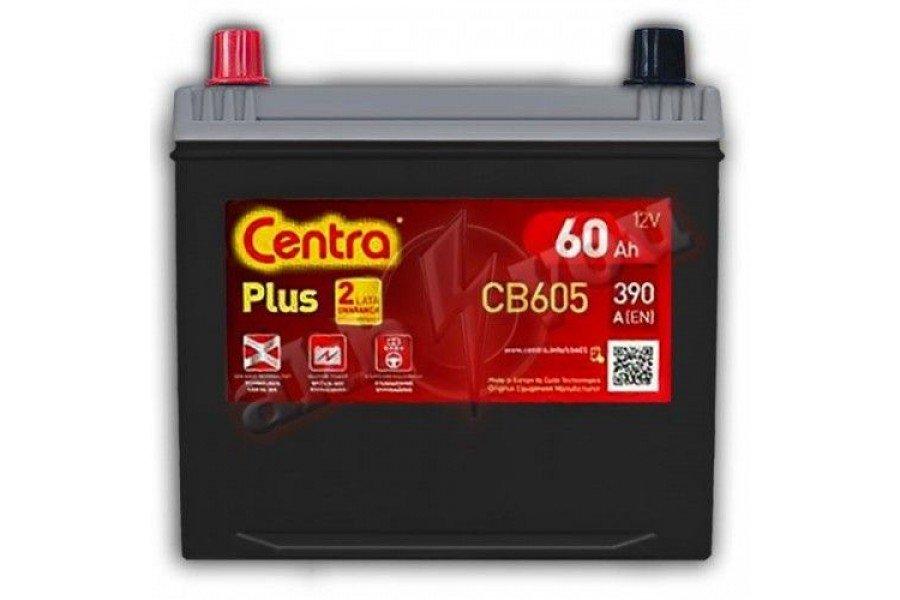 Аккумулятор Centra Plus CB605 60 А/ч 390A L+