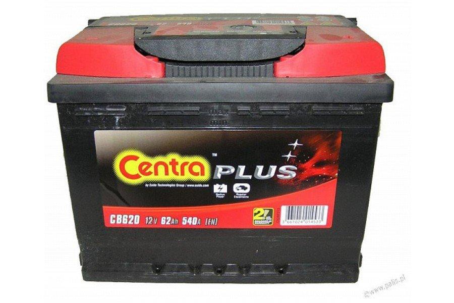 Аккумулятор Centra Plus CB620 62 А/ч 540A R+