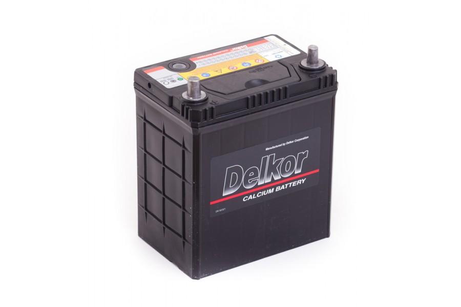 Аккумулятор DELKOR (46B19R) 40 e/n 370A  A/h ОТ 1-го ПОСТАВЩИКА