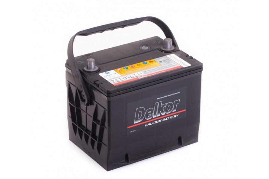 Аккумулятор Delkor (75-650) 75  A/h 650A e/n ОТ 1-го ПОСТАВЩИКА