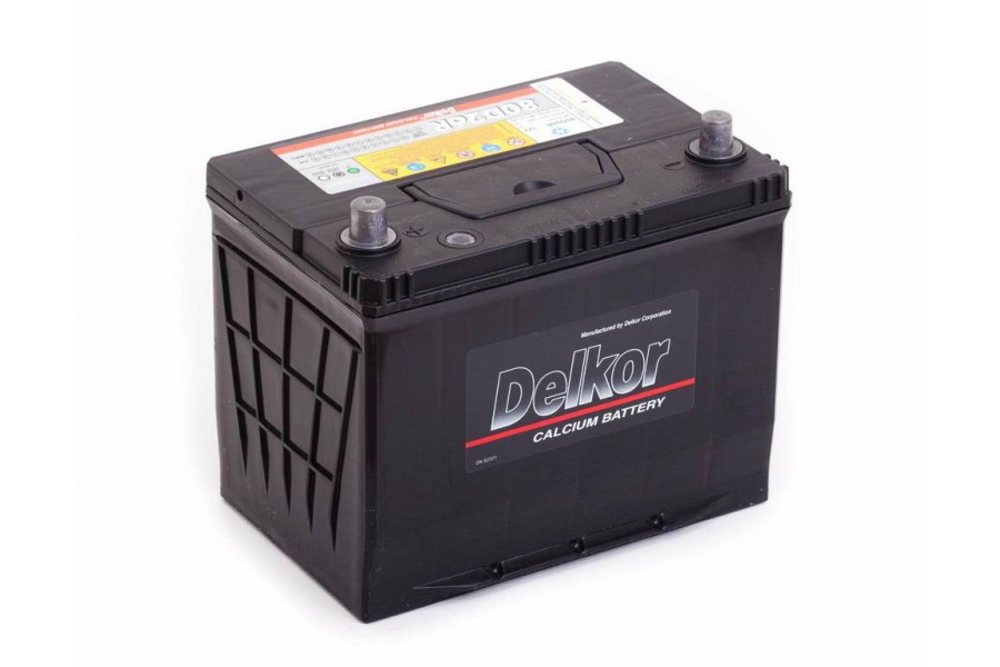 Аккумулятор DELKOR (80D26L) 75  A/h 600A e/n ОТ 1-го ПОСТАВЩИКА