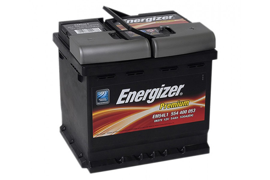 Аккумулятор Energizer plus 54  A/h 530A (EN)