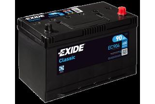Аккумулятор Exide Classic EC904 JIS (90  A/h), 680A R+