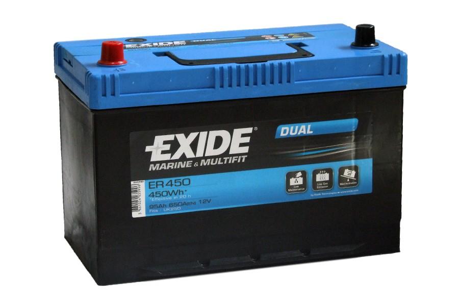 Аккумулятор Exide ER450 (95  A/h), 650A L+