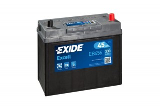Аккумулятор Exide Excell EB456 (45  A/h), 330A R+