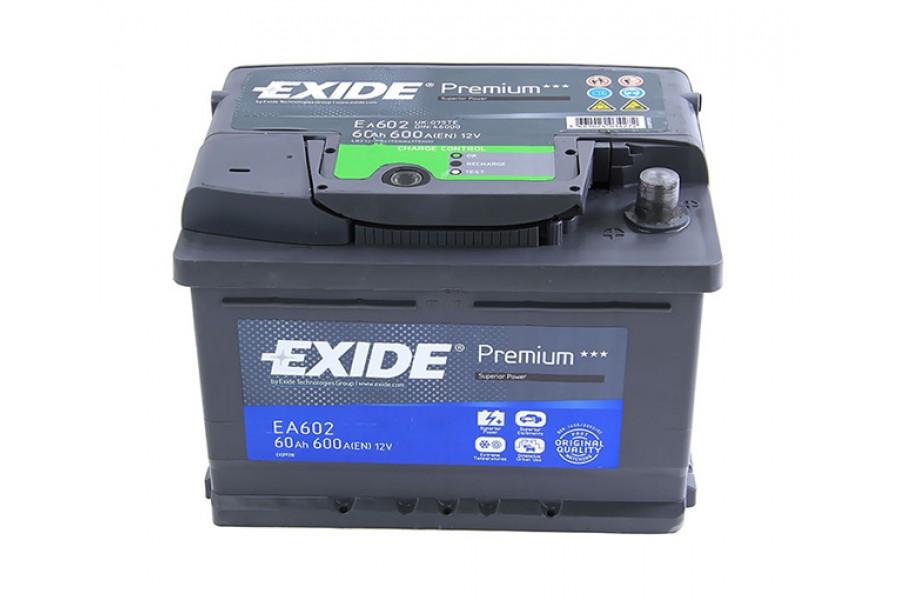 Аккумулятор Exide Premium 61  A/h R 600A (EN)