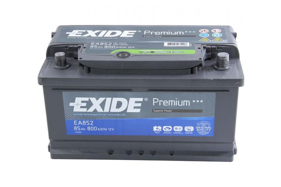 Аккумулятор Exide Premium 85  A/h R 800A (EN)