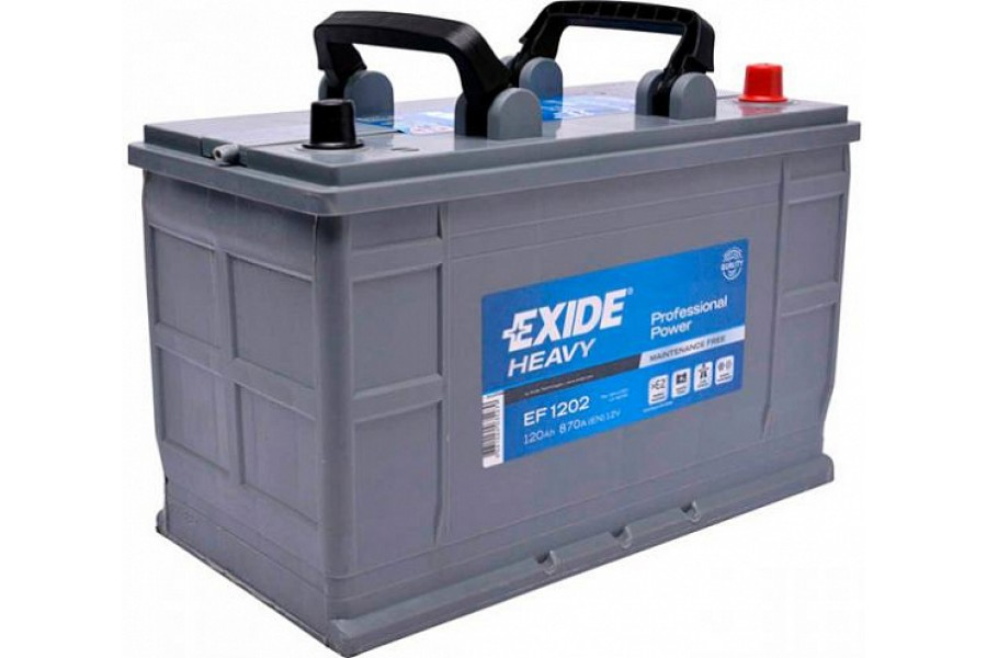 Аккумулятор Exide Professional Power EF1202 120 A/h 870A R+