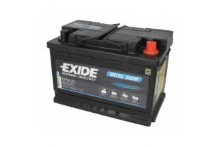 Аккумулятор Exide Dual AGM EP600 (70 A/h) 760A R+
