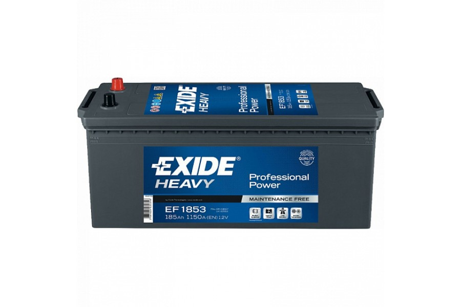 Аккумулятор Exide Professional Power EF1853 185 A/h 1150A L+