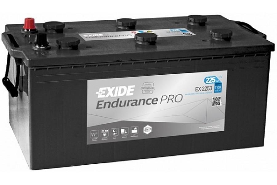 Аккумулятор Exide Endurance PRO EFB EX2253 225 A/h 1150А L+
