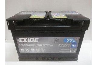 Аккумулятор Exide Premium 77 A/h R 760A (EN)