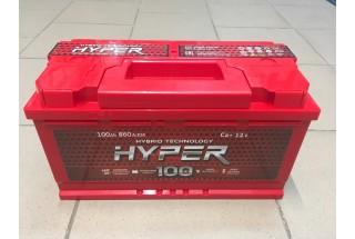 Аккумулятор Hyper 100  A/h 860A ОТ 1-го ПОСТАВЩИКА