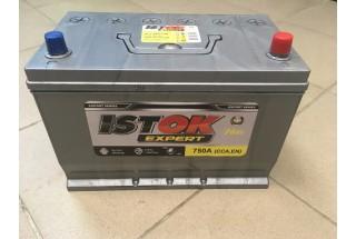 Аккумулятор ИСТОК 90  A/h 750A Asia L-R ОТ 1-го ПОСТАВЩИКА