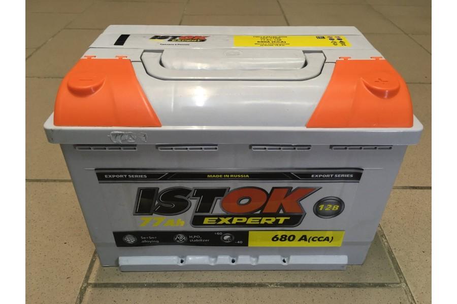 Аккумулятор ИСТОК 77 A/h 680A ОТ 1-го ПОСТАВЩИКА