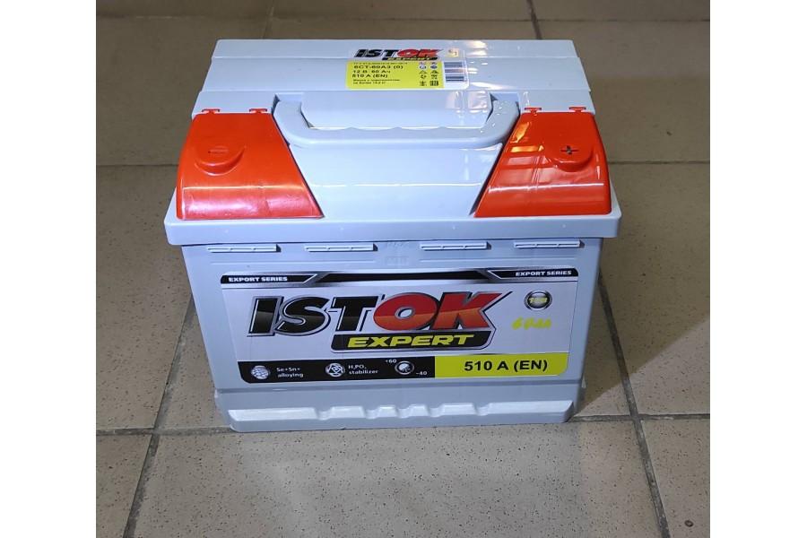 Аккумулятор ИСТОК 60 A/h евро 510A (EN)