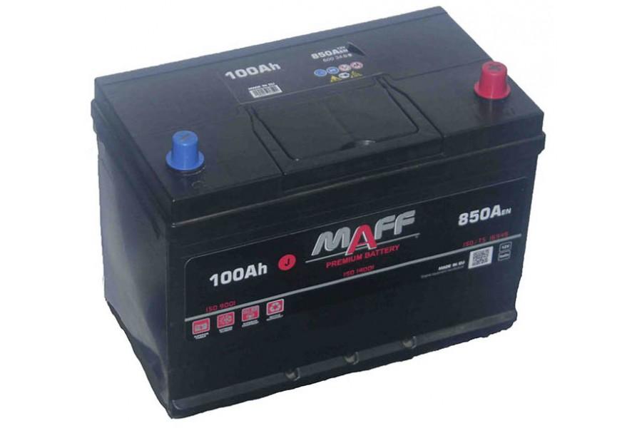 Аккумулятор MAFF Premium Japan 100 A/h 850А R+/L+
