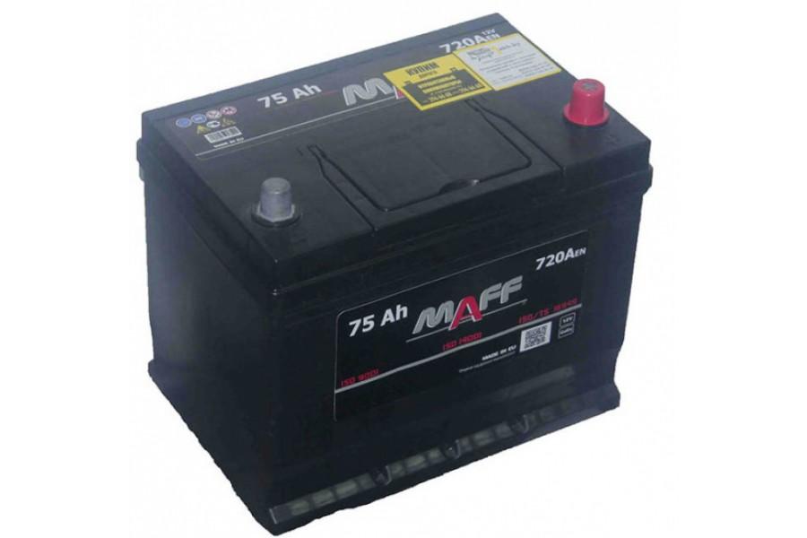 Аккумулятор MAFF Premium Japan 75  A/h 720А R+/L+