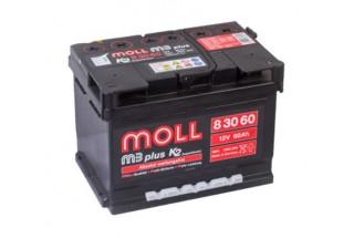 Аккумулятор Moll M3 Plus 60   A/h 550A (EN)  ОТ 1-го ПОСТАВЩИКА