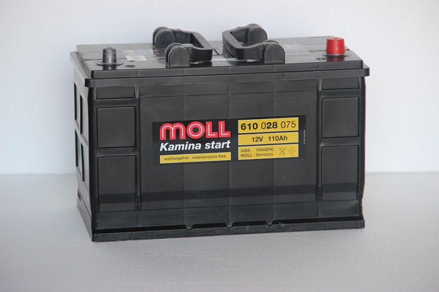Аккумулятор Moll 110  A/h 750A (EN) ОТ 1-го ПОСТАВЩИКА