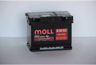 Аккумулятор Moll M3 Plus 62   A/h 600A (EN) ОТ 1-го ПОСТАВЩИКА