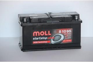 Аккумулятор Moll AGM 95  A/h 850A (EN) ОТ 1-го ПОСТАВЩИКА