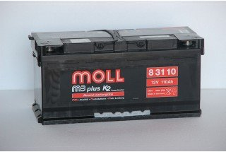 Аккумулятор Moll M3 Plus 110  A/h 900A (EN) ОТ 1-го ПОСТАВЩИКА