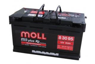 Аккумулятор Moll M3 Plus 95   A/h 850A (EN) ОТ 1-го ПОСТАВЩИКА
