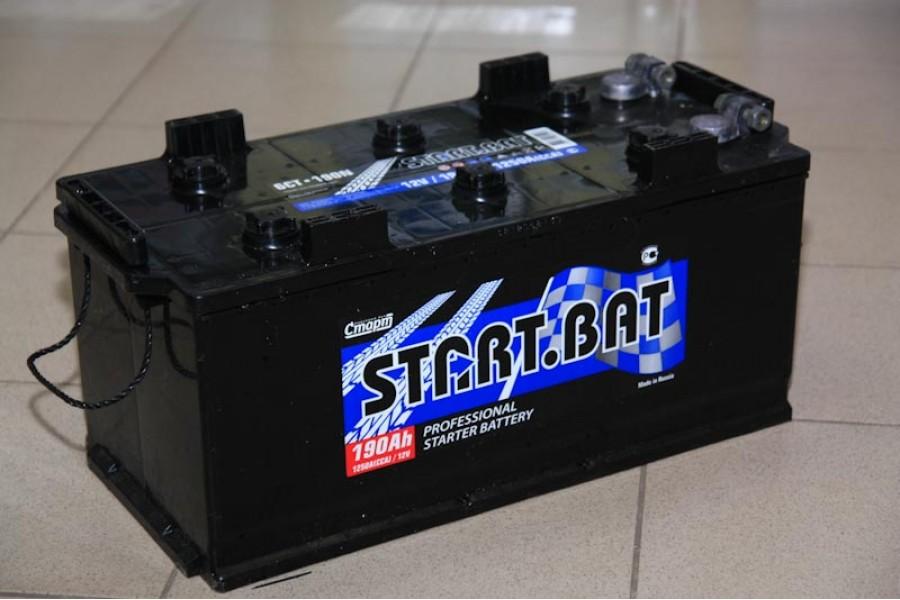 Аккумулятор Start.bat 190  A/h 1150 A (болт.)