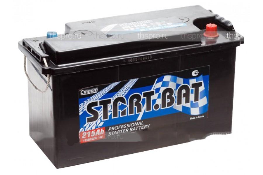 Аккумулятор Start.bat 3 СТ 6 V 215  A/h 1120A (EN)