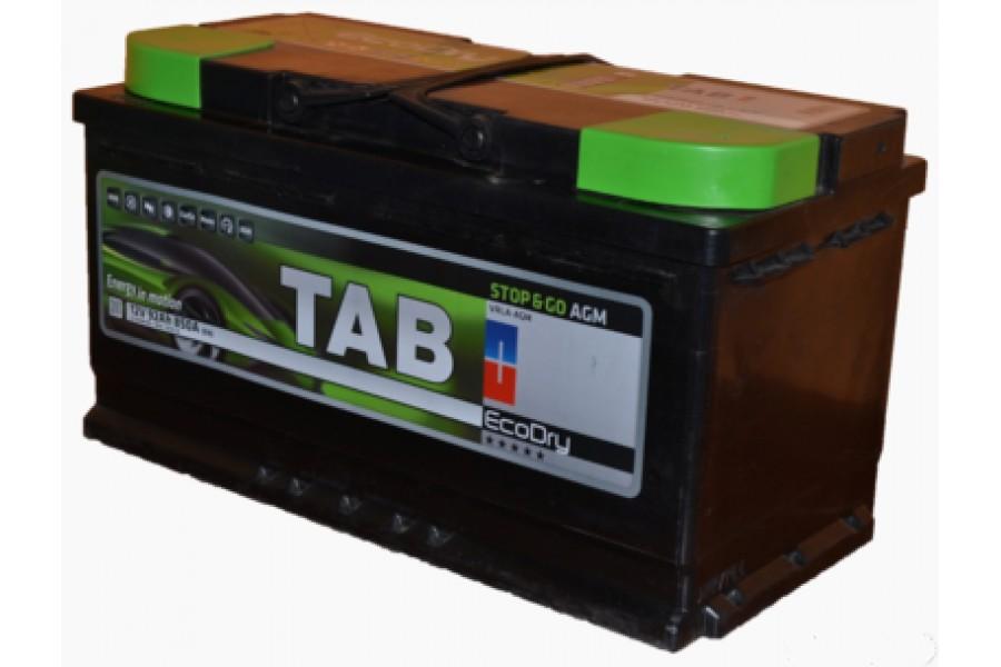 Аккумулятор TAB magic Start-stop AGM 95  A/h Гелевый 850A (EN)