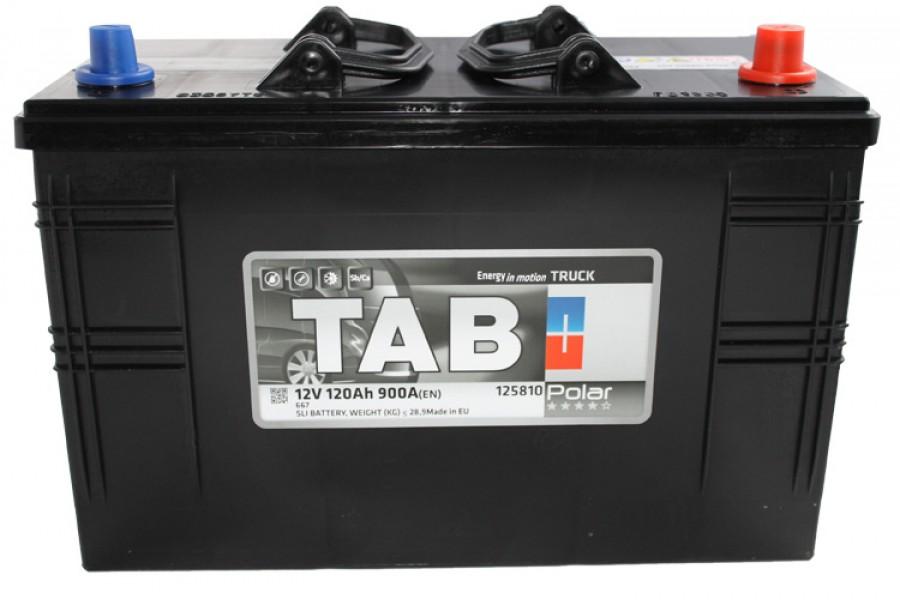Аккумулятор Tab Polar 120  A/h 900A EN (IVECO)