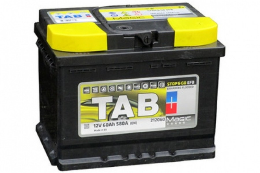 Аккумулятор TAB Magic Stop & Go EFB R (60 А·ч)