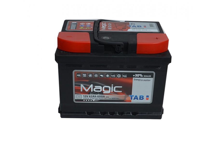 Аккумулятор Tab Magic 62 A/h 600A (EN)