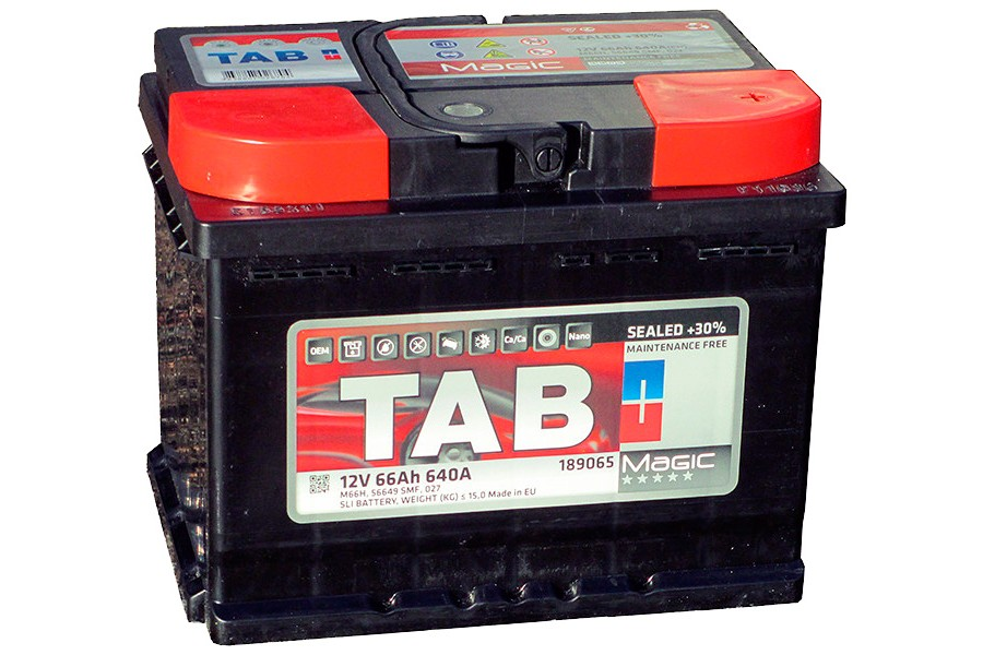 Аккумулятор Tab Magic 66  A/h 640A (EN)