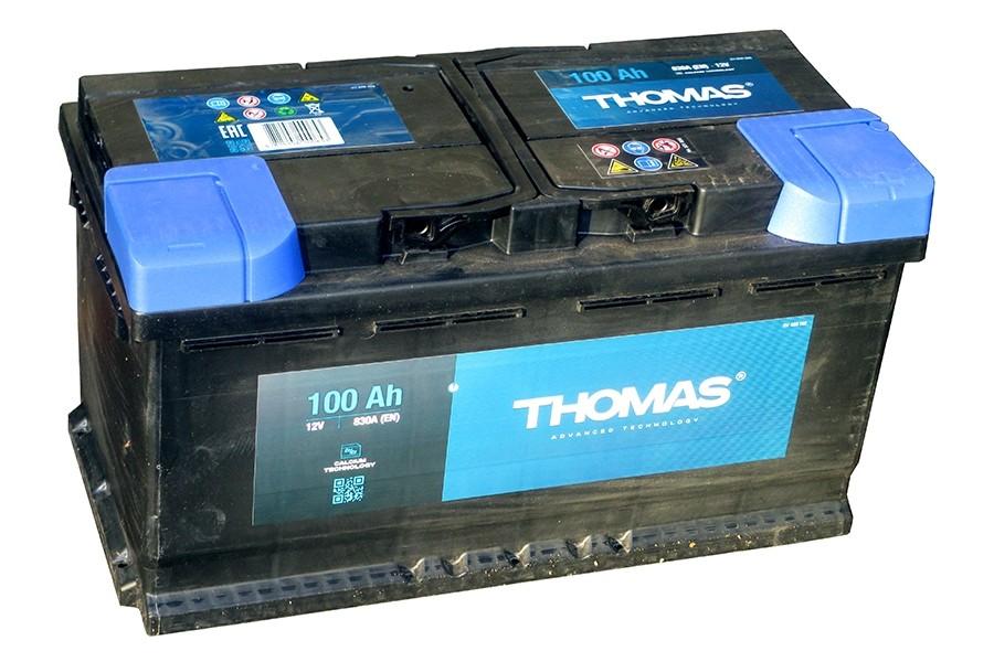 Аккумулятор Thomas 100 A/h 830A R+