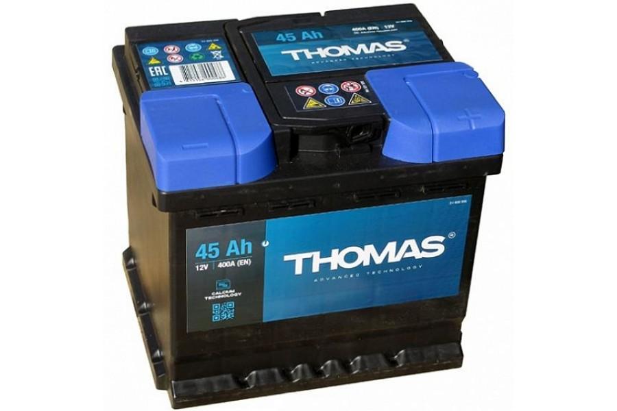 Аккумулятор Thomas 45 A/h 400A R+