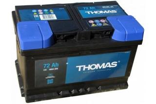 Аккумулятор Thomas 72 A/h 720A R+
