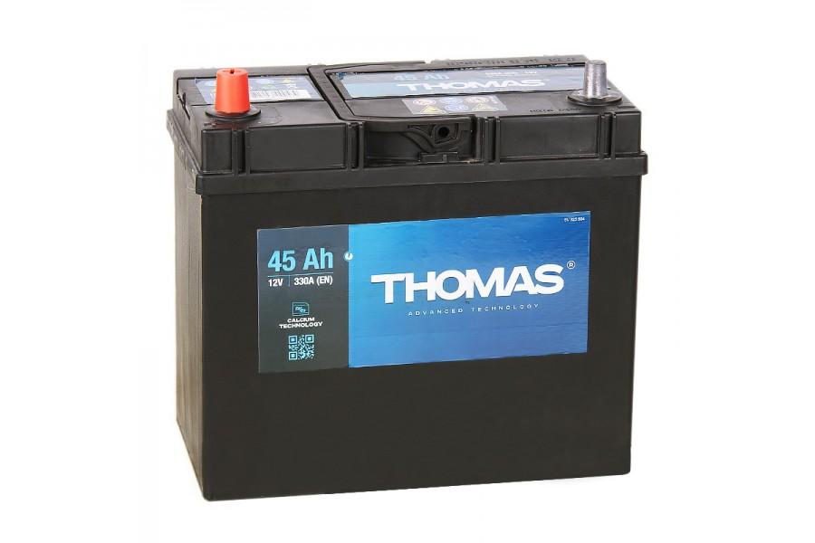 Аккумулятор Thomas Asia 45 A/h 330A L+