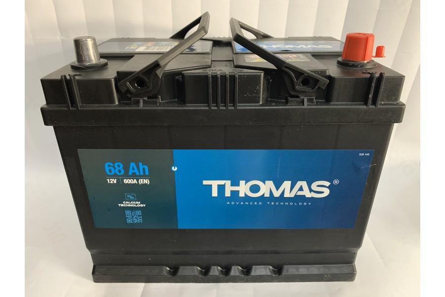 Аккумулятор Thomas Asia 68 A/h 600A R+