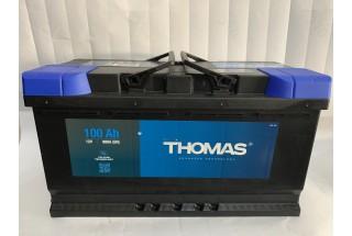 Аккумулятор Thomas 100 A/h 880A R+